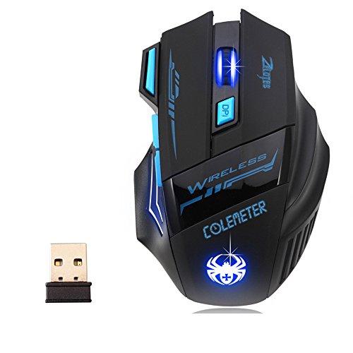 Gaming Maus – COLEMETER Wireless Gaming maus Computer maus Bluetooth ...